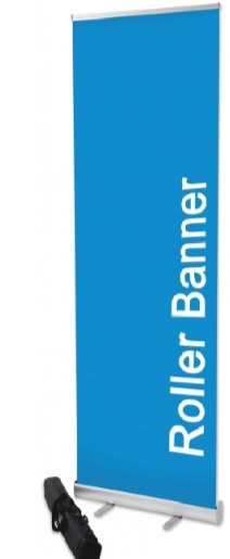 roller banner example